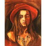 Marzena Turek Autoportret 1988